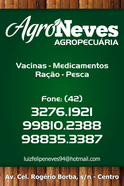 AgroNeves - Agropecuária
