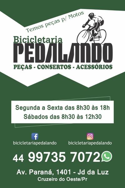 Bicicletaria Pedalando - Peças - Consertos e Acessórios Cruzeiro do Oeste e16b57140699c