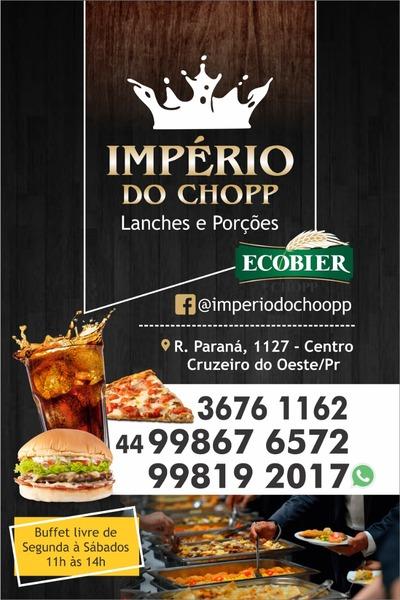 Império do Chopp - Restaurante - Lanchonete e Porções Cruzeiro do Oeste 6b40f9ab83fba