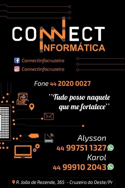 Connect Informática - Assistência Técnica - Vendas de Peças e Acessórios  Cruzeiro do Oeste 7b3d1a50b628e