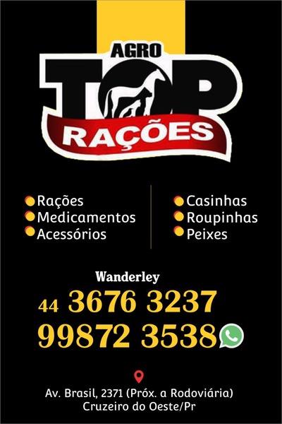 Agro Top Rações - Produtos Veterinários e Pet Shop Cruzeiro do Oeste 0fd674440a623
