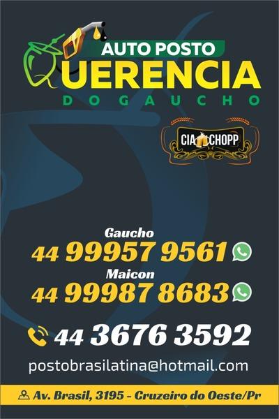 Auto Posto Querencia do Gaúcho Cruzeiro do Oeste Ver mais detalhes. Bicicletaria  Pedalando - Peças - Consertos e Acessórios ... 740607b0ccab9