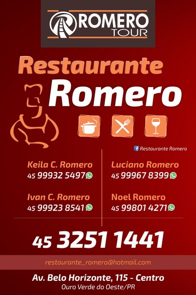 Restaurante e Pizzaria Romero - Romero Tour Ouro Verde do Oeste