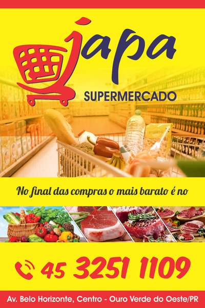 Japa Supermercado Ouro Verde do Oeste